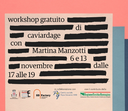 Workshop gratuito di caviardage